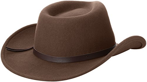 Scala Classico Men's Crushable Felt Outback Hat