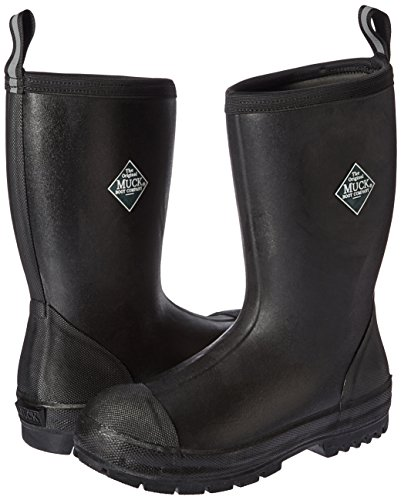 Muck Boot Men's Chore Resistant Mid Work Boot, Black, 13 M US by Muck Boot (Image #6)