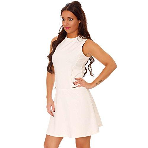 Miss Wear Line - Vestido - cuello congregado - Sin mangas - para mujer