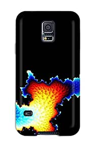Hot Fractal Abstract Other First Grade Tpu Phone Case For Galaxy S5 Case Cover