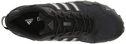 Scarpa Da Corsa Adidas Mens Rockadia Trail M Nero / Nero / Grigio Scuro Mélange
