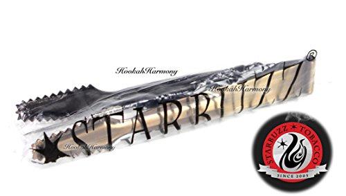 Charco Flare Large Hookah Charcoal Burner Shisha Starter Titanium Natural Coconut Coal and Sheecool Nara Hanging tongs