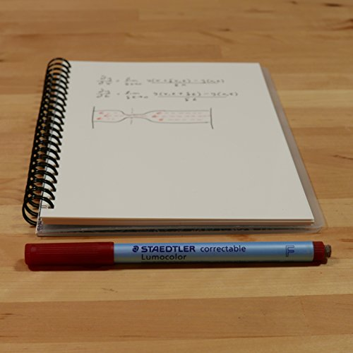 "Scrubby Reusable Whiteboard Notebook--Junior Size (5.5"" x 8"")--Imagine Cover Photo #2"