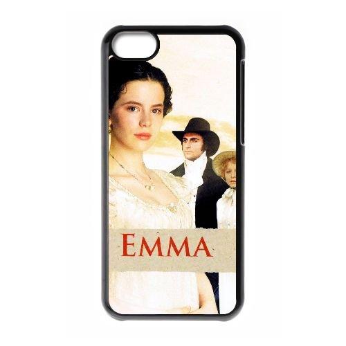 H8Q76 Emma Haute Résolution Affiche S0N0XS cas d'coque iPhone de téléphone cellulaire 5c couvercle coque noire WX0BBT2PW
