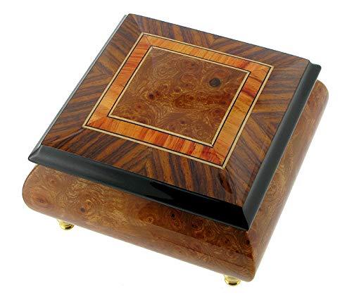 Caja de música para anillos / caja de anillos musical de madera ...