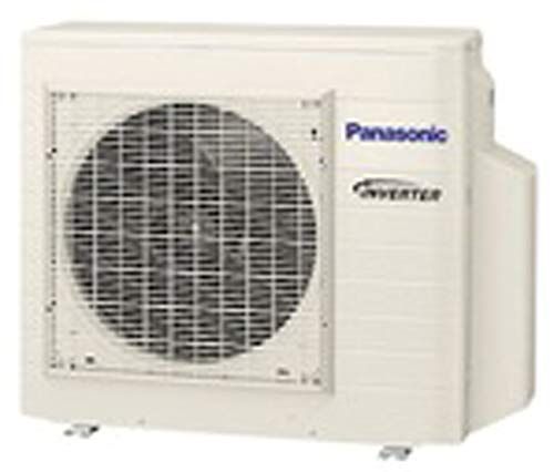 Panasonic Ductless Wall Mount Mini Split Inverter Air Conditioner with Heat Pump, 9000 BTU, 23 SEER, 230 VAC, Indoor and Outdoor units with 15' Lineset (Panasonic Mini Split)