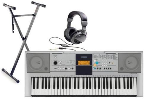 Yamaha PSR E323 Keyboard E 323 Set + NT + Trípode + Auriculares