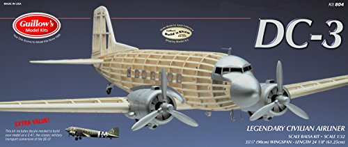 Guillow's Douglas DC-3 Model Kit (Last Time Cubs Were In World Series)