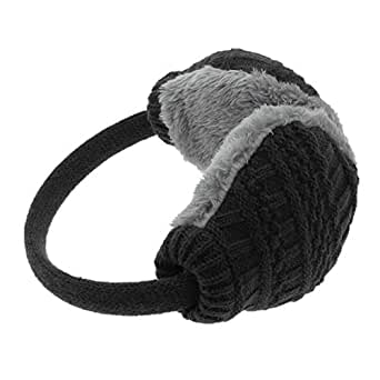 winter earmuffs for women warm earmuffs ear cover knitted. Black Bedroom Furniture Sets. Home Design Ideas