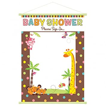 Unisex Baby Shower Guest Sign In Sheet Amazon Baby