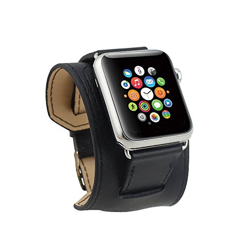 spritechtm-elegance-watchband-replacementleather-barcelet-strap-wristband-with-adapter-for-apple-wat