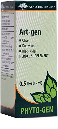 Genestra Brands – Art-gen – Olive, Dogwood, and Black Alder Herbal Supplement – 0.5 fl oz (15 ml)