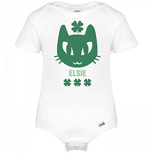 Elsie Cat Clover St. Patrick's Day: Infant Gerber - The Elsie Cat