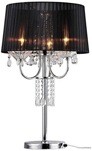 Whse of Tiffany TL9256 Victoria Crystal Table Lamp, - Tiffany Victoria