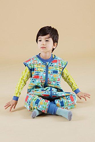 Vaenait baby Kids Boys Double-Layered Cotton Wearable Blanket Sleeper Sleep Travel S by Vaenait baby (Image #1)