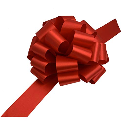 Large Red Ribbon Pull