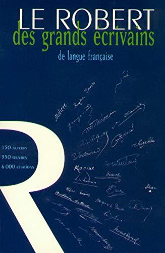 Le Robert des grands ecrivains de langue francaise (French Edition) by philippe-hamon-denis-roger-vasselin (Paperback)