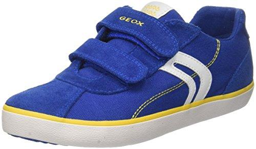 Geox Jungen J Kilwi Boy I Sneaker Blau (Royal/Lime)