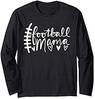 [Featured] Funny Football Mom Tee- Football Tee - Football Lovers Long Sleeve in ALL styles | Size S - 5XL