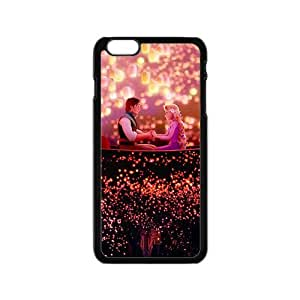 Frozen shiny scenery romantic couple Cell Phone Case for Iphone 6