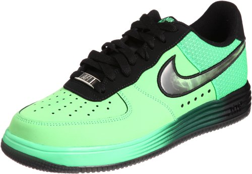 1 No Black Men's Lid BNIB Black 580383300 Leather Green Nike Poisen Force Green Lunar Poison twdqtB6v