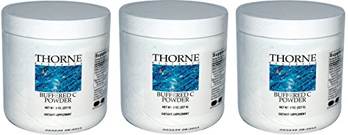 (Buffered C Powder 8oz x 3 bottles 24oz total)