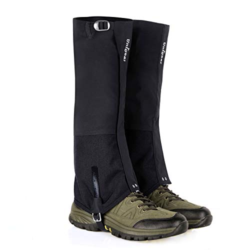 Unigear Snow Gaiters for Hiking Waterproof Boot Leg Gaiters for Climbing X-Large