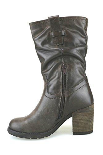 Botines Keys Mujer Cuero Zapatos AJ123 39 Marrón gzFWpq
