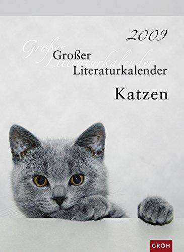 Großer Literaturkalender Katzen 2009