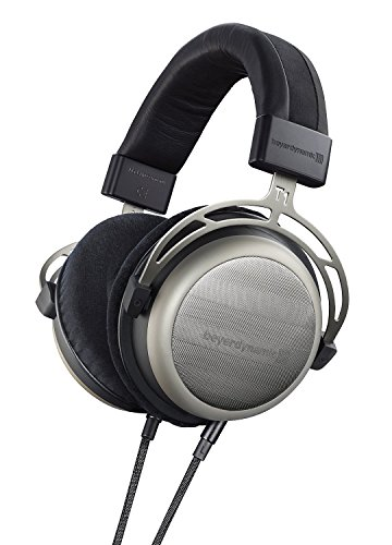 Beyerdynamic T1 2nd Generation Audiophile Stereo Wired Over-Ear Headphones with Dynamic Semi-Open Design