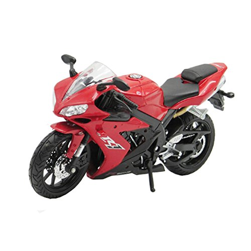 Classic Motorcycle Alloy Toy Good Ornament 1:12 Motor,red