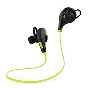 tecart racer a1 wireless headphones bluetooth in ear sports earbuds headset secure. Black Bedroom Furniture Sets. Home Design Ideas