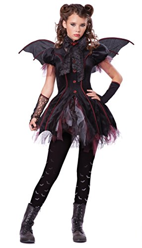 California Costumes Victorian Vampiress Tween Costume, Large (Girl Vampire Costume)