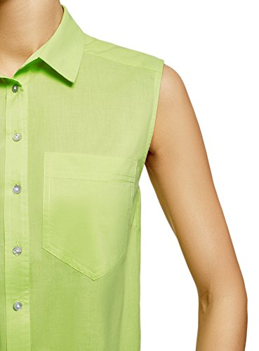 In Verde 6a00n Donna Top Cotone Ultra Oodji Basic UAc8IaZqq