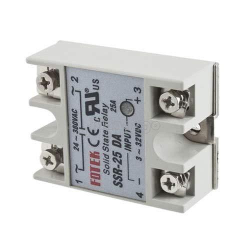 Maslin Halbleiter-Relais FOTEK SSR-25 DA -380V~/25A~- Solid State Relay Input 3-32V/DC (Solid State Transmitter)