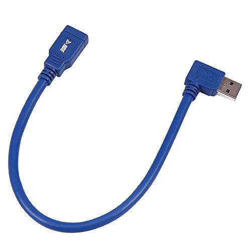 کابل فرمت مردانه با زاویه HDE USB 3.0 با زاویه راست