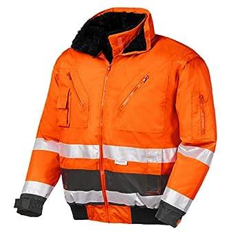 L Neu Texxor Warnschutz-pilotenjacke Vancouver 4107 Orange Gr Baugewerbe