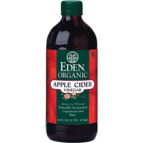Eden Foods Organic Apple Cider Vinegar -- 16 fl oz (Apple Cider Vinegar Eden)
