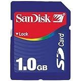 Sandisk - 1 Gb Secure Digital Sd Card (Sdsdb-1024, Bulk Package)