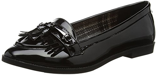 Head Over Heels Damen Gigli Slipper Schwarz (Schwarz)
