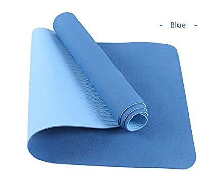 Amazon.com: Sport Accessories M and F 1PC TPE Yoga Mat 6mm ...