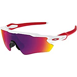 Oakley Men's Prizm Road Radar Ev Path Sunglasses, Polished White, 138 Mm