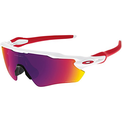 Oakley Men's Prizm Road Radar EV Path Sunglasses, Polished White, 138 - Road Oakley Prizm