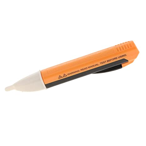 non-brand Sharplace Detector de Electricidad Prueba Lápiz Luz LED Equipo de Instalación Electrónica -