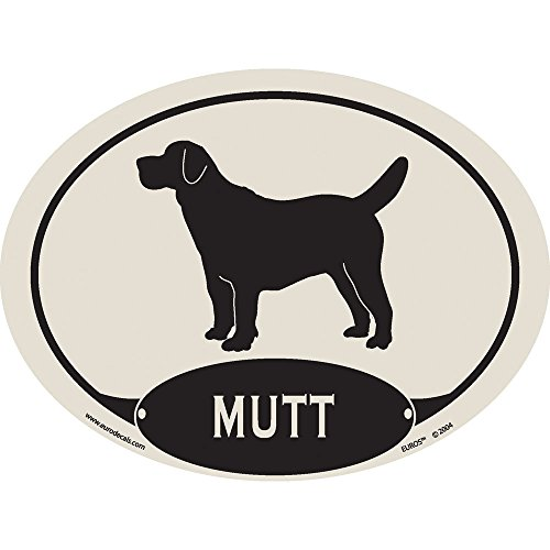 European Style Mutt Auto Decal