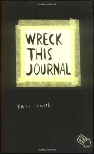 Free Shipping expanded Ed Wreck This Journal Everywhere By Keri Smith 144 Pages English Original Book Wreck This Journal black