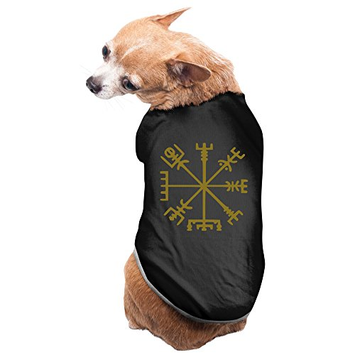 Viking Compass Nordic Tattoo Dog Costume Charming Cozy Pet Supplies Custom Dog Tshirt