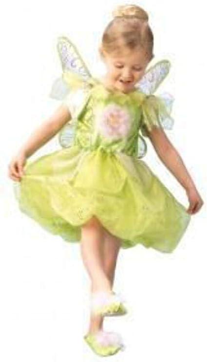 Rubies 3 883685 L - Disfraz infantil de campanilla (7-8 años ...