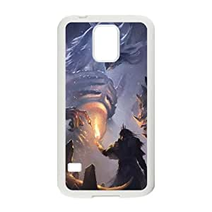 Dark Souls Samsung Galaxy S5 Cell Phone Case White Exquisite designs Phone Case KM484H68