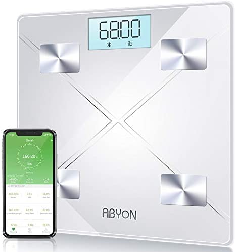 Bluetooth Smart Scales Digital Weight